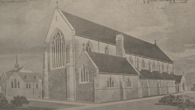 The church in 1911