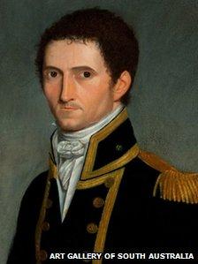 Portrait of Captain Matthew Flinders 1774-1814