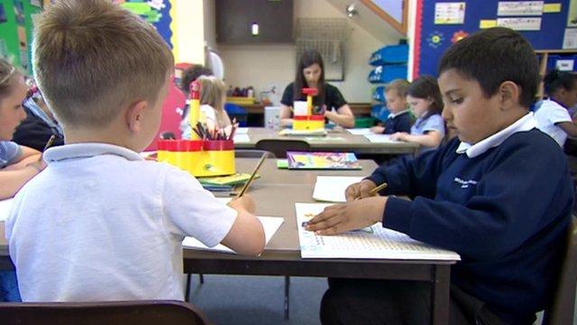 School children in Bristol