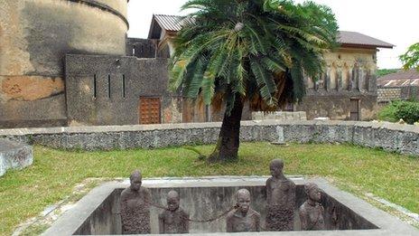 Slave Market Memorial at Stone Town, Zanzibar