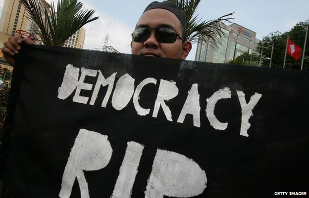 What are the few countries that do no consider themselves a democracy?