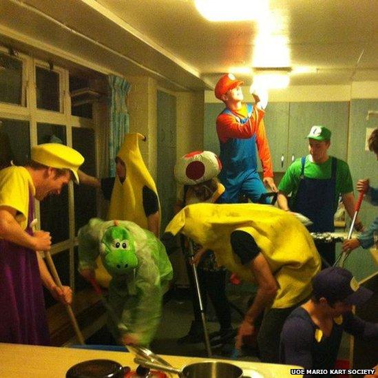 Mario Kart Society event