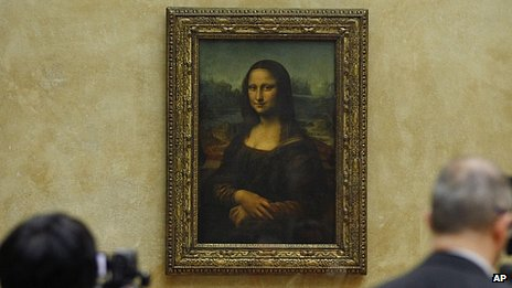 Mona Lisa at the Louvre, Paris (file image