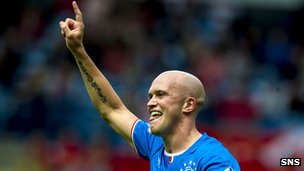 Rangers midfielder Nicky Law