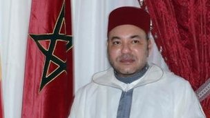 Morocco's King Mohammed VI, July 2013