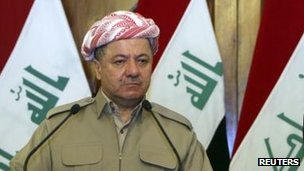 Massoud Barzani, July 2013
