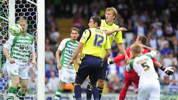 Birmingham score at Yeovil