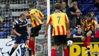 Kris Doolan fired Partick Thistle in front