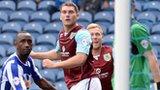 Sam Vokes heads in Burnley's winner
