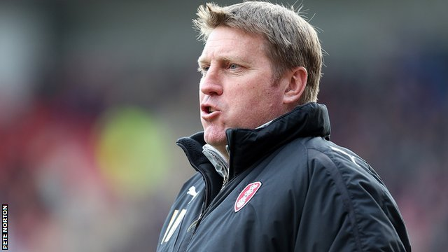 Rotherham United assistant manager Paul Raynor