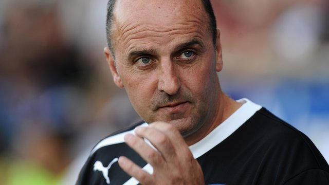 Chesterfield boss Paul Cook