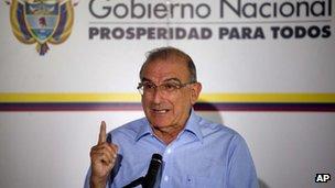 Former Colombian vice-president Humberto de la Calle