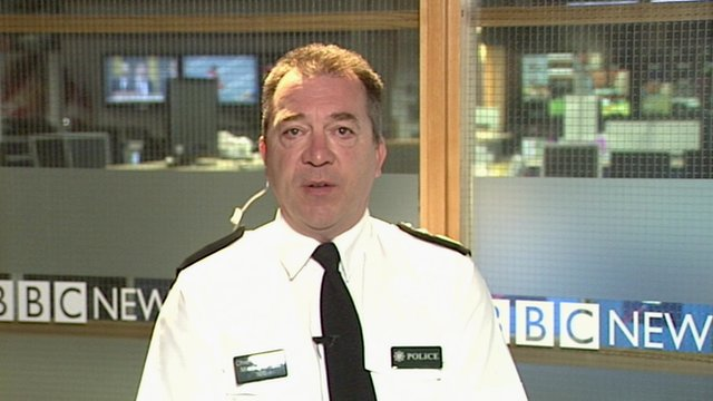 Northern Ireland's Chief Constable Matt Baggott