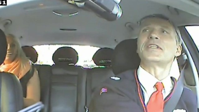Norway PM works as secret cab driver