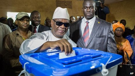 Ex-PM Ibrahim Boubacar Keita, 11 Aug
