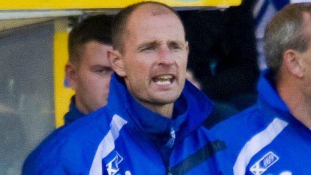 Kilmarnock boss Allan Johnstone