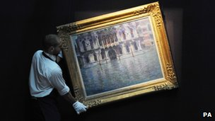 London's popularity as a second home for wealthy foreigners has helped drive art sales