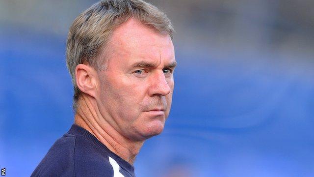 Plymouth boss John Sheridan