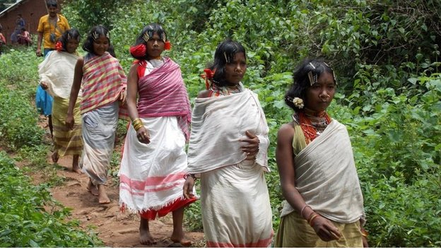 Dongria Kondh tribespeople