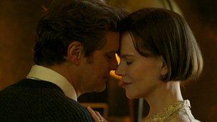 Colin Firth and Nicole Kidman in The Railway Man