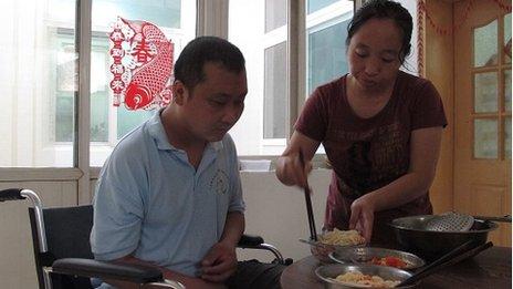 Yang Hongxia and husband Zhang Yansheng