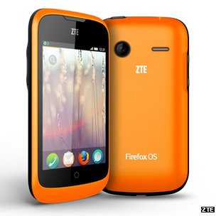 ZTE's Firefox phone to sell on eBay