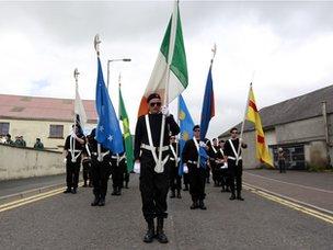 Castlederg march