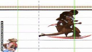 Christine Ohuruogu photo finish
