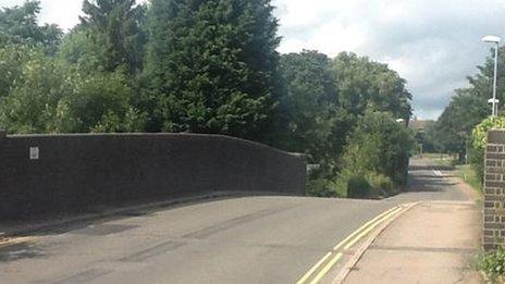 The bridge at Kibworth