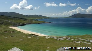 Borve beach, Harris