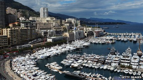 Monte Carlo plays host to a Formula 1 race every year