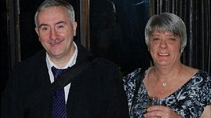 Nigel and Judith Maude