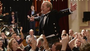 Peter Mullan in Sunshine on Leith