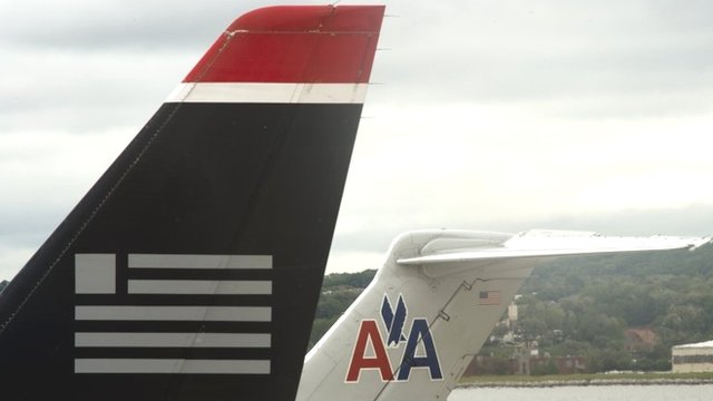 merger between american airlines and us Joshua lott/getty images several airline mergers have taken place during the last 12 years, but the american airlines and us airways merger is like no other.