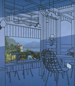 Patrick Caulfield, After Lunch, 1975, Tate