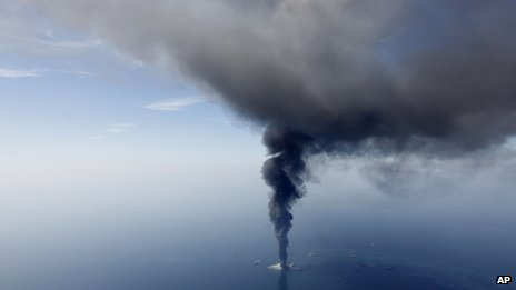 Deepwater Horizon, April 2010