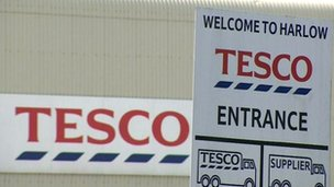 Former Tesco distribution centre in Harlow