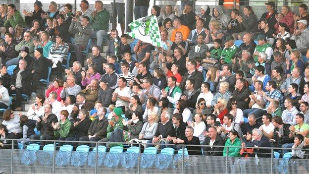 Guernsey FC fans