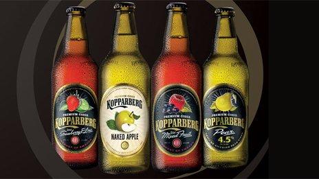 Kopparberg cider varieties