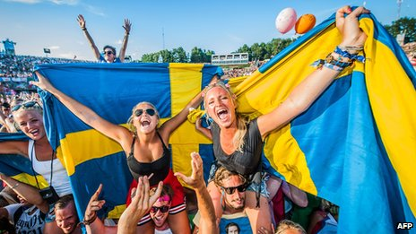 Young Swedes