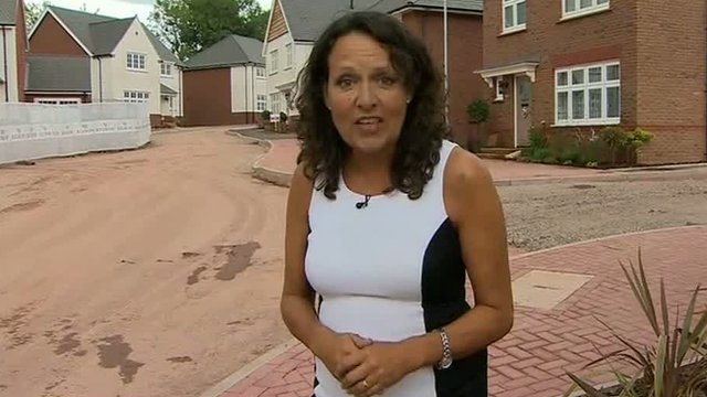 Sarah Dickins on a new housing estate in Pontypool