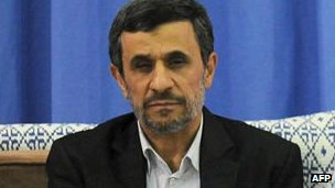 Mahmoud Ahmadinejad on 3 August, 2013.