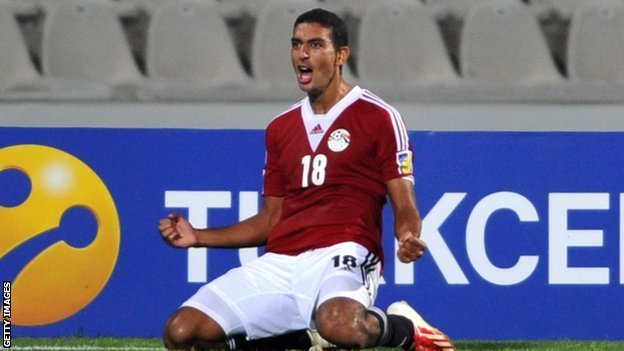 Egypt and Rio Ave's Ahmed Hassan Koka