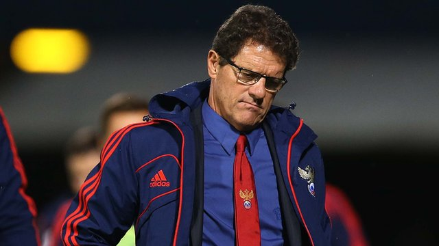 Russian manager Fabio Capello