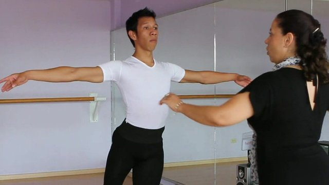 Male ballet dancer in Mexico
