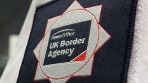 Border agency badge