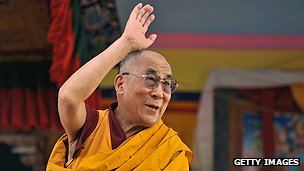 Tibet's spiritual leader, the Dalai Lama