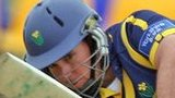 Jim Allenby bats for Glamorgan