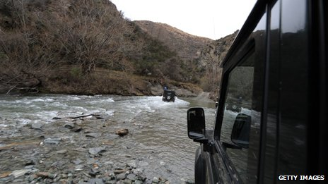 Four-wheel drive tour near Arrowtown