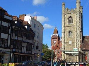 Broad Street in Reading